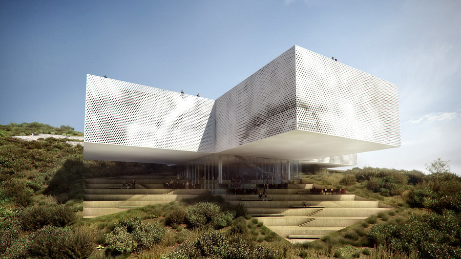 Museo tamayo cidade do m xico big rojkind for Concurso exterior