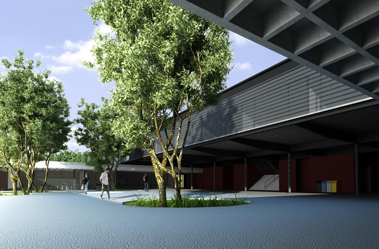 Concurso liceu franc s de bras lia una arquitetos segond guyon for Concurso docentes exterior