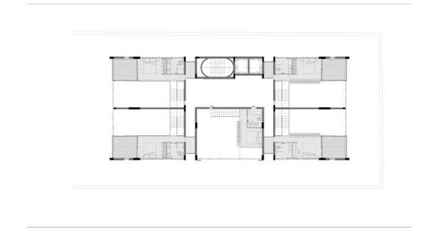 Planta 05 - Apartamento - Mezanino