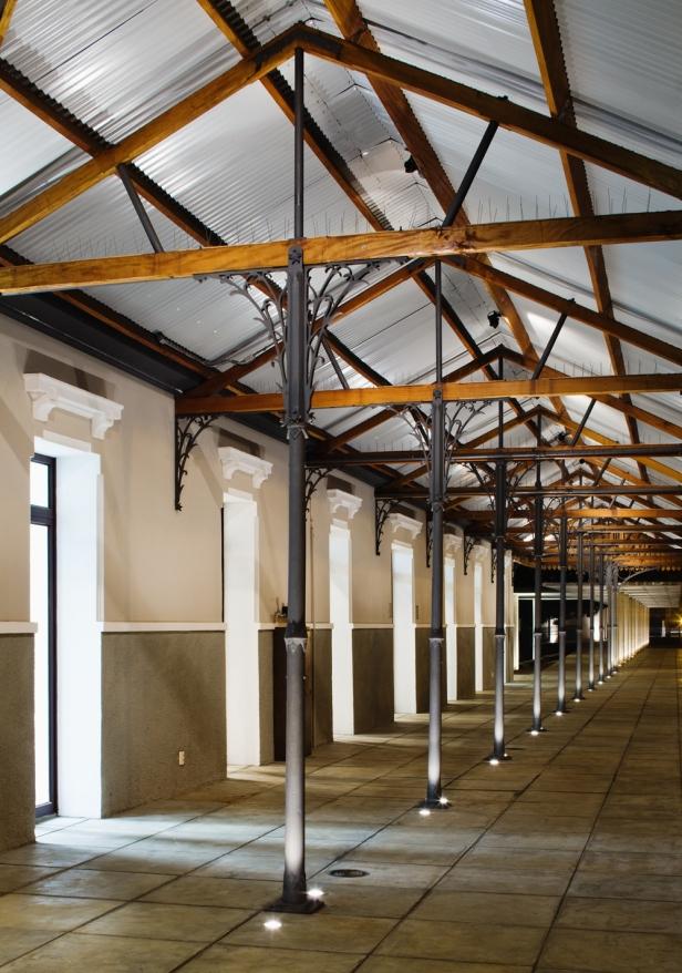 Gare restaurada