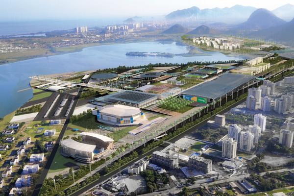 Parque Olímpico - BCMF Arquitetos - Fonte: rio2016.org.br