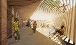 Holcim Awards 2012 - 1º Lugar - Secondary school with passive ventilation system - 05
