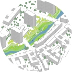 Holcim Awards 2012 - 3º Lugar - Urban renewal and swimming-pool precinct - 05