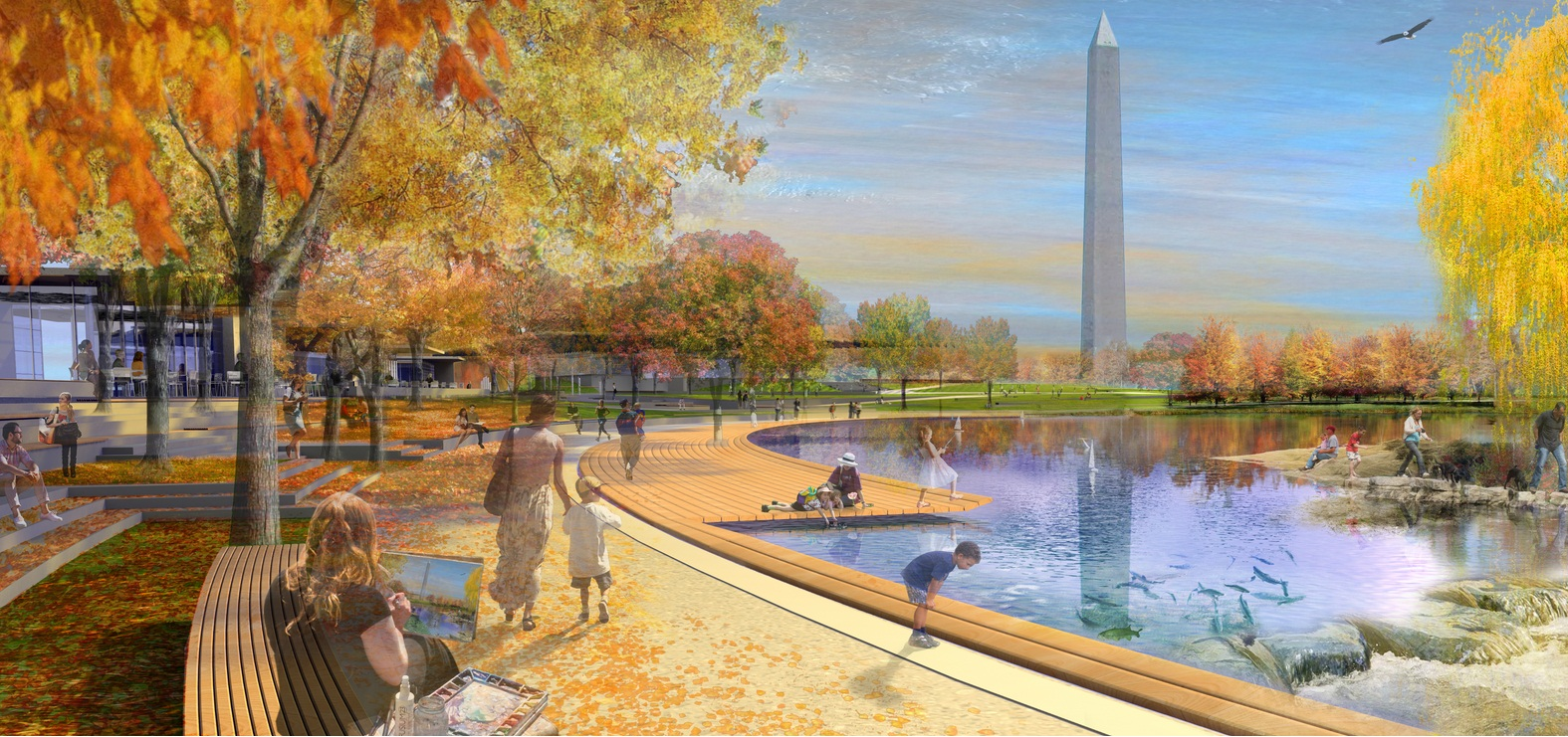 National Mall Design Competition – Constitution Gardens ...