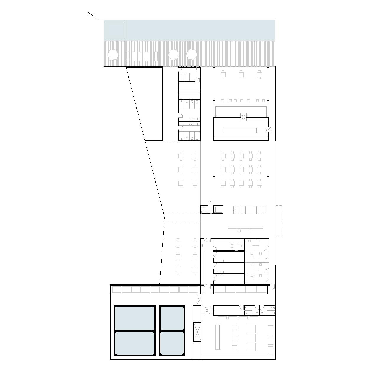 Projeto Aliah um Hotel para Copa Verde 09 Nivel 54 Apoio Hotel #575774 1280 1280