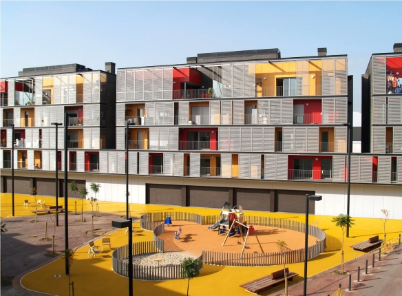 Conjunto Habitacional - Barcelona - ONL Arquitectura