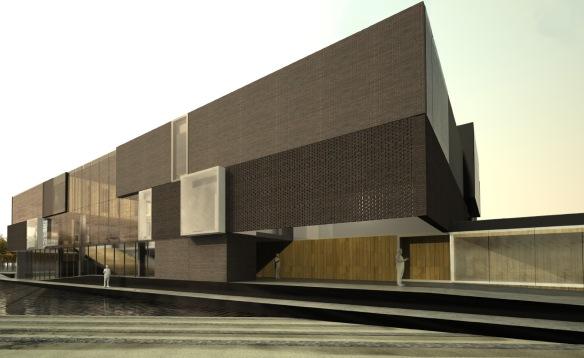 Concurso - Biblioteca Saint-Laurent - Montreal - Projeto Finalista - Fonte: CCC/LEAP