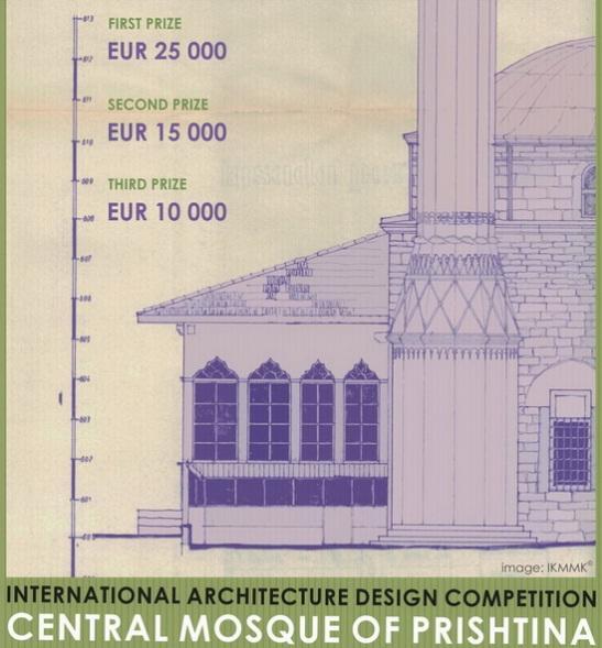 Concurso Internacional - Projetar a Mesquita Central de Prishtina