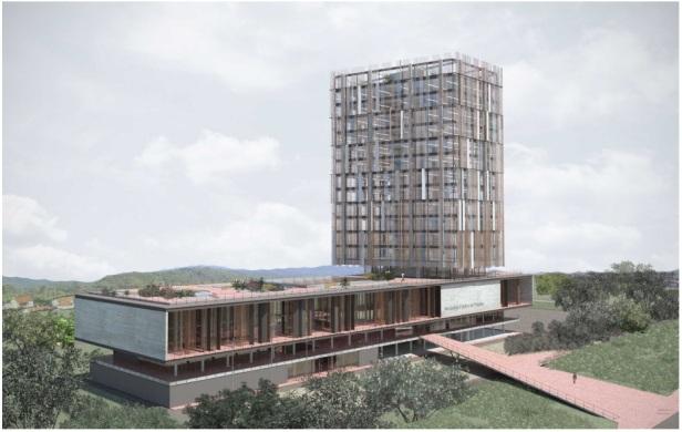 Complexo do Ministério Público da Paraíba - 2º Lugar - Imagem 01