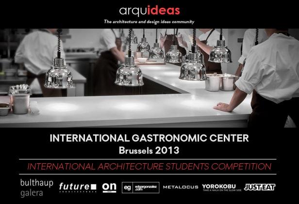 Concurso Internacional para Estudantes – Centro Gastronômico Internacional - Bruxelas