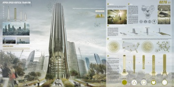 Concurso Skyscraper - M4 - Prancha 01