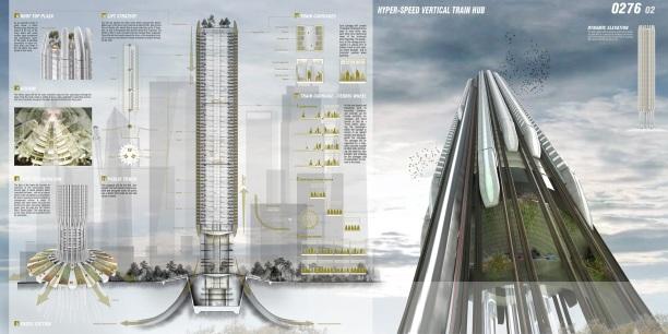 Concurso Skyscraper - M4 - Prancha 02