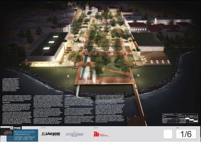 Concurso de Requalificação do Centro Histórico de São José - 02 - Prancha 01