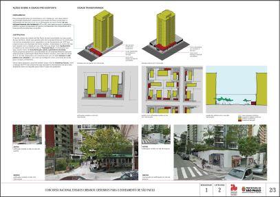 Concurso Nacional Ensaios Urbanos - M1 - C2 - menção honrosa - projeto 01 - Prancha 02
