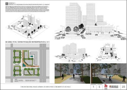 Concurso Nacional Ensaios Urbanos - M1 - C5 - projeto 01 - Prancha 02
