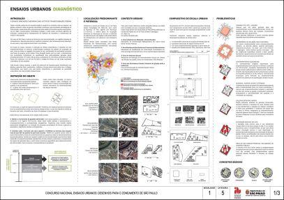 Concurso Nacional Ensaios Urbanos - M1 - C5 - projeto 04 - Prancha 01