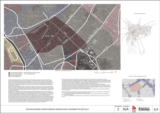 Concurso Nacional Ensaios Urbanos - M2 - menção honrosa - projeto 07 - Prancha 01
