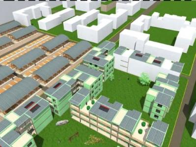 Concurso Mass Housing - Regional - África Subsaariana - Primeiro Lugar - Imagem