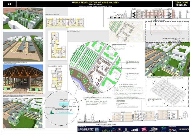 Concurso Mass Housing - Regional - África Subsaariana - Primeiro Lugar - Prancha 3