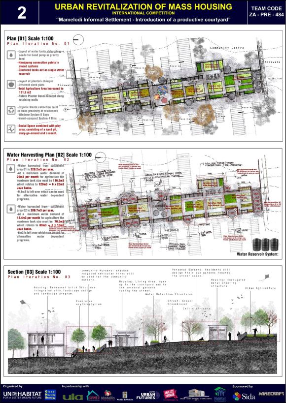Concurso Mass Housing - Regional - África Subsaariana - Segundo Lugar - Prancha 2