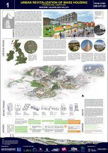 Concurso Mass Housing - Regional - Europa e outros países da OCDE - Segundo Lugar - Prancha 1