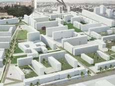 Concurso Mass Housing - Regional - Países em Transição - Primeiro Lugar - Imagem