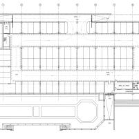 Mercado Municipal Ponte de Lima - Guedes Cruz Arquitectos - Des. Mercado Planta Piso -1