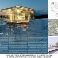 Concurso - Centro Administrativo - Primeiro Lugar - Prancha 1