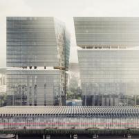 Concurso - Centro Administrativo - Segundo Lugar - Imagem 1
