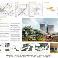 Concurso - Centro Administrativo - Segundo Lugar - Prancha 2