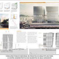 Concurso - Centro Administrativo - Segundo Lugar - Prancha 3