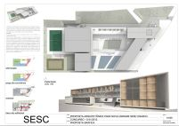 Concurso SESC Osasco - Primeiro Lugar - Prancha 01