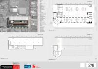 Concurso de Arquitetura - Mercado Público de Lages - 1º Lugar - Prancha 02
