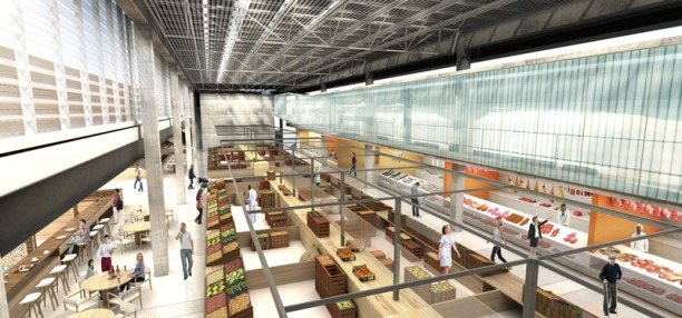Concurso de Arquitetura - Mercado Público de Lages - 2º Lugar - Imagem 02