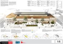 Concurso de Arquitetura - Mercado Público de Lages - 2º Lugar - Prancha 01