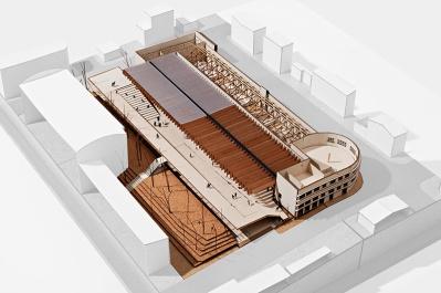 Concurso de Arquitetura - Mercado Público de Lages - 3º Lugar - Imagem 02