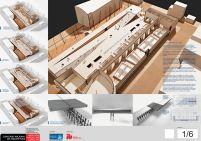 Concurso de Arquitetura - Mercado Público de Lages - 3º Lugar - Prancha 01