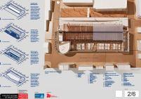 Concurso de Arquitetura - Mercado Público de Lages - 3º Lugar - Prancha 02