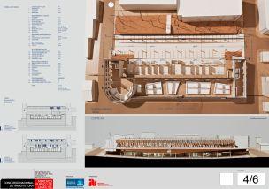 Concurso de Arquitetura - Mercado Público de Lages - 3º Lugar - Prancha 04