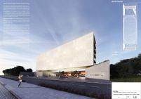 Concurso Público Nacional de Arquitetura - Campus Igara UFCSPA - Primeiro Lugar - Prancha 01