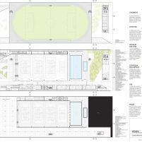 Concurso Público Nacional de Arquitetura - Campus Igara UFCSPA - Primeiro Lugar - Prancha 03