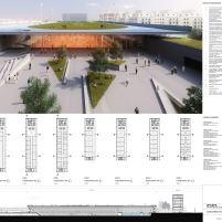 Concurso Público Nacional de Arquitetura - Campus Igara UFCSPA - Primeiro Lugar - Prancha 04