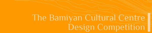 Bamiyan Cultural Centre - Concurso Internacional