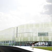 Concurso Anexo da Biblioteca Nacional - Menção Honrosa - Imagem 3
