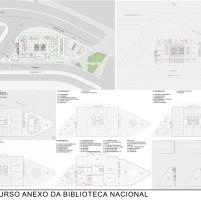 Concurso Anexo da Biblioteca Nacional - Menção Honrosa - Prancha 2