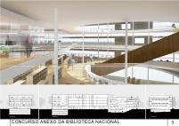 Concurso Anexo da Biblioteca Nacional - Menção Honrosa - Prancha 3