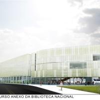 Concurso Anexo da Biblioteca Nacional - Menção Honrosa - Prancha 6