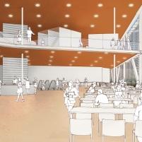 Concurso Anexo da Biblioteca Nacional - Primeiro Lugar - Imagem 4