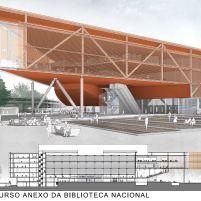 Concurso Anexo da Biblioteca Nacional - Primeiro Lugar - Prancha 4