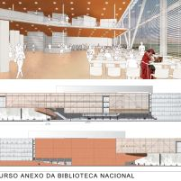 Concurso Anexo da Biblioteca Nacional - Primeiro Lugar - Prancha 5